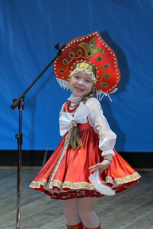 Русский костюм для детей фото